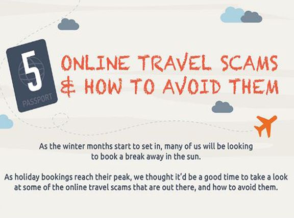 [INFOGRAPHIC] 5 Travel Scams to Avoid